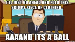 Meme Clothing - folding clothes challenged for life meme