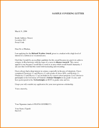4 sample cover letter for job application pdf