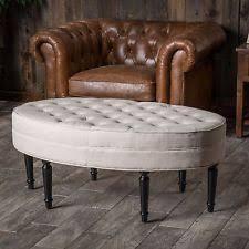 Upholstered Ottoman Coffee Table Upholstered Ottoman Ebay