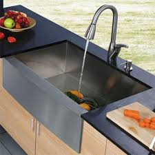 Faucet And Soap Dispenser Placement Elegant Vigo Vg15004 16 Gauge Stainless Steel Zero Edge Single Bowl Kitchen Sink And Faucet Combo Ideas Jpg