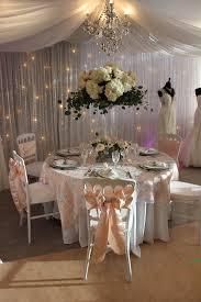 blush chair sashes linens aglow bridal lounge