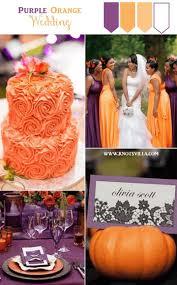 purple and orange wedding ideas chocolate and orange wedding decor orange and brown fall wedding