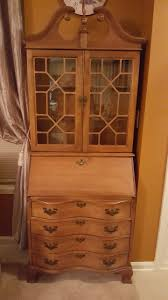 Antique Secretary Desk With Bookcase by Secretary My Antique Furniture Collection