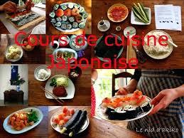 cours cuisine sushi cours de cuisine japonaise 75 atelier cuisine sushi cours de cuisine