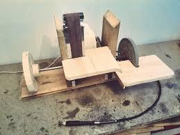 homemade sanding station 4 in 1 rotary tool grinder belt disc