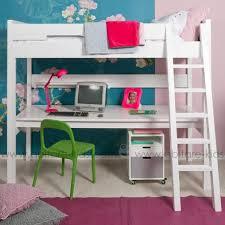 lit enfant mezzanine avec bureau chambre enfant de la marque bopita chez abitare abitare