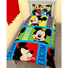 Mickey Duvet Cover Bedroom Inspiring Bedding Set Boys Bedroom Idea High Quality And