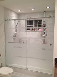 glass bath doors frameless home design frosted sliding glass shower doors backsplash bath