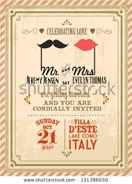 vintage wedding invites vintage wedding invitation stock images royalty free images