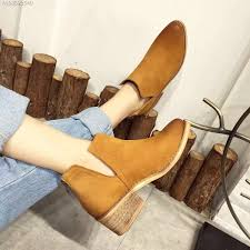 yellow boots s popular leather yellow boots winter buy cheap leather yellow boots