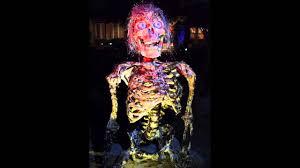 Pictures Of Halloween Skeletons Talking Skeleton Halloween Animatronic Youtube