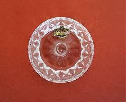 vintage crystal ring holder images Smaller vintage crystal dressing table set ring holder 24 lead jpg