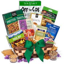 christmas baskets healthy christmas basket by gourmetgiftbaskets