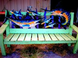 bench creative savv painting the garden bench excellent outdoor