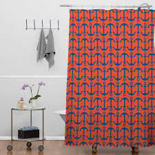 bathroom red chevron ikat shower curtain for bathroom decoration