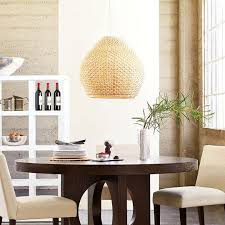 west elm pendants woven pendant from west elm apartment therapy