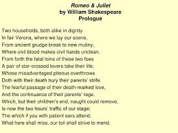 Ppt Romeo Juliet By William Shakespeare Prologue Powerpoint Romeo And Juliet Powerpoint Template