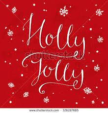 christmas greeting card letering merry christmas stock vector