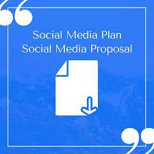 Plan Social Media Free Compelling Social Media Plan Templates To Win Clients