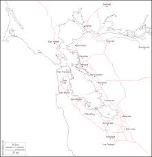 San Francisco Bay Map by Map Of Uc Berkeley In The San Francisco Bay Area Haas Of