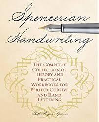 amazon com spencerian penmanship theory book 9780880620826