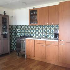 kitchen wallpaper design happy customers kitchenwalls backsplash wallpaper