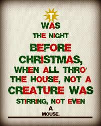 twas the night before christmas party home decorating interior