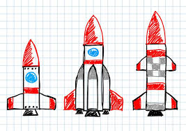 make a paper rocket and launch it activity rocket