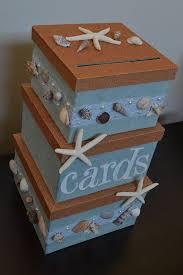Beach Themed Gifts Wedding Gift Card Box Beach Theme Wedding Invitation Sample