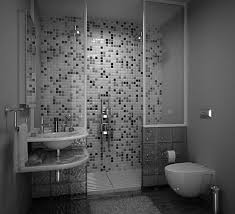 black grey and white bathroom ideas grey wall themes shower room with white bathtub and glass panel