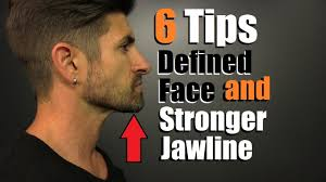 what hair suits a strong chin 6 tips for a more defined face stronger jawline reducing chubby