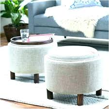 Circle Ottomans Ottomans With Storage Circle Ottoman With Storage Medium Size Of