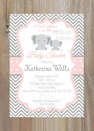 pink and grey baby shower excellent baby shower invitations pink and grey 86 with additional