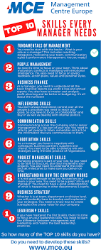 ten key skills every manager needs mce