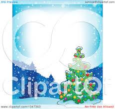 christmas tree decorations cartoon christmas lights decoration