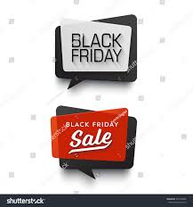 black friday sale signs black friday sale vector banner set stock vector 343749866