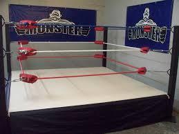 backyard wrestling ring