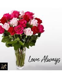 vera wang flowers ftd always bouquet vera wang in st joseph mi h j florist