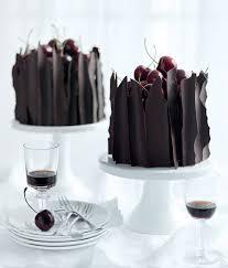 fancy mini chocolate cakes it has the recipe in english half way