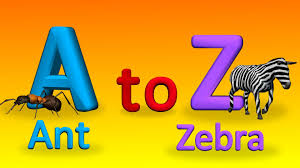 a to z alphabets with spellings for children how to spell words