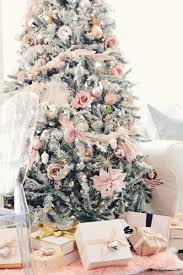 pink christmas tree home tour a pink christmas feather garland pink
