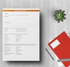 resume worksheet template 5 free worksheet templates resume budget event free premium