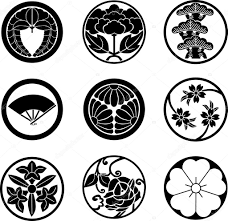 japanese family crests vector stock vector aryunet 3839009