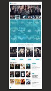 halloween website template movies joomla template