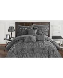 new savings on chic home mayfield ruffled pinch pleat bed in a bag