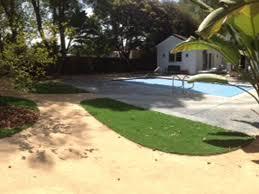 faux grass picture rocks arizona landscaping backyard designs