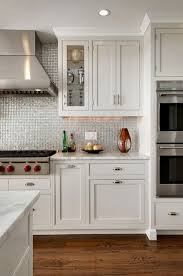 Stainless Steel Tiles For Kitchen Backsplash White And Silver Kitchen Backsplash Design Ideas