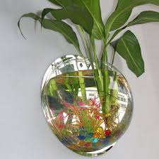 Aquarium For Home Decoration Decoration Betta Fish Tanks Wall Mounted Fish Aquarium Saltwater