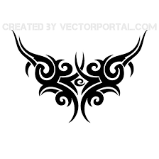 tattoo vector tribal style download at vectorportal