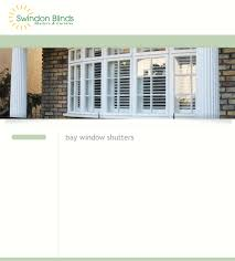 swindon blinds blinds shutters and canopies bay window shutters